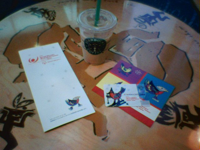 スターバックス スペシャルオリンピックス協賛 カード